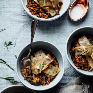 Leek Lentil Mushroom Recipes