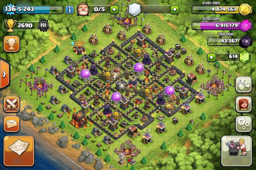 Base Map Clash of Clans Guide