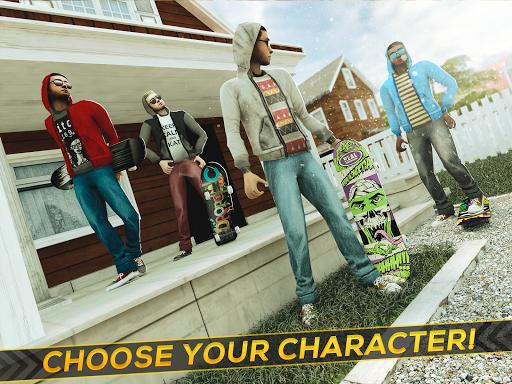 True Skateboarding Ride Skateboard Game Freestyle 2.11.7 screenshots 8