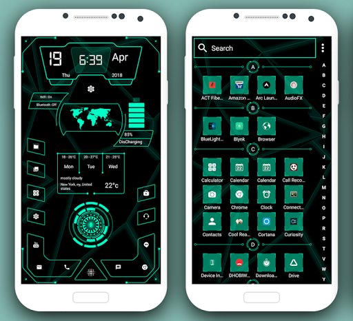 High Style Launcher 2019 - Theme, Hi-tech 9.0 androidtablet.us 2