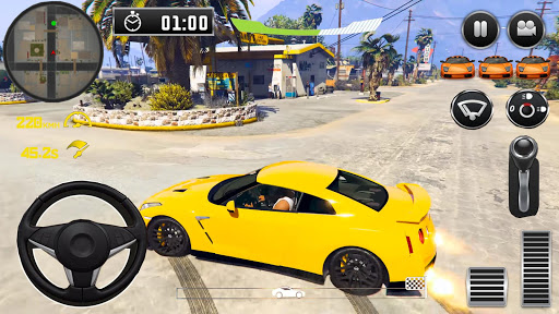 City Driving Nissan Simulator 1 screenshots 1
