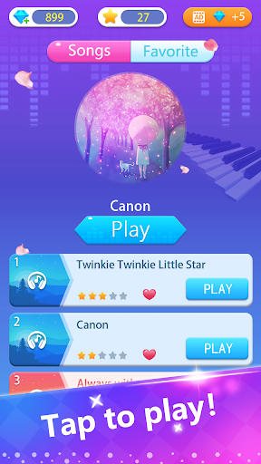 Piano Classic Game - Tap Color Tiles