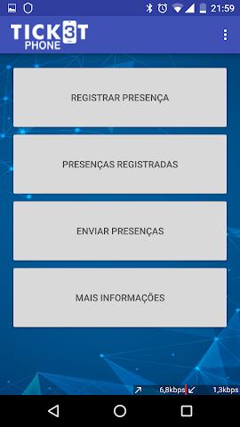 android TicketPhone - Produtores Screenshot 2