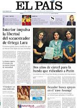 Photo: Interior impulsa la libertad del secuestrador de Ortega Lara, dos años de cárcel para las Pussy Riot, la banda que ridiculizó a Putin, y la banca espera el rescate con un nuevo récord de morosidad, en nuestra portada del sábado 18 de agosto http://cort.as/2MKe