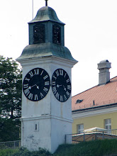 Photo: Day 79 - Clock Tower on Fortress (Hands are the Wrong Way Round!!)