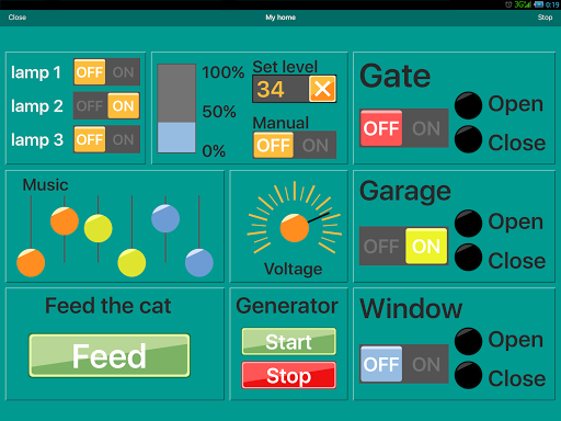 RemoteXY: Arduino control PRO screenshot 6