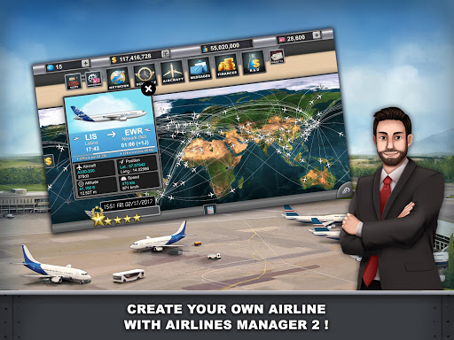 Airlines Manager - Tycoon 2018  screenshots 11