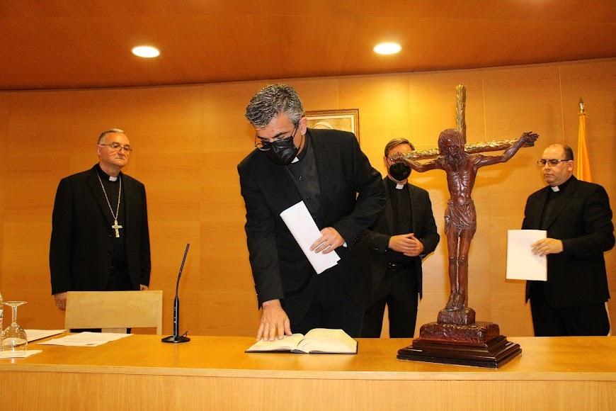 Juramento del vicario episcopal de pastoral.