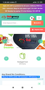ODIGROCY ONLINE GROCERIES APP You Wish We Deliver - náhled