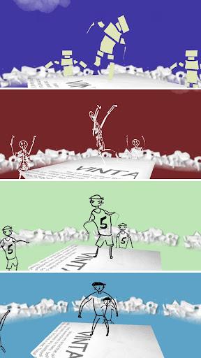 玩免費音樂APP|下載纸片涂鸦 : 跳舞 app不用錢|硬是要APP