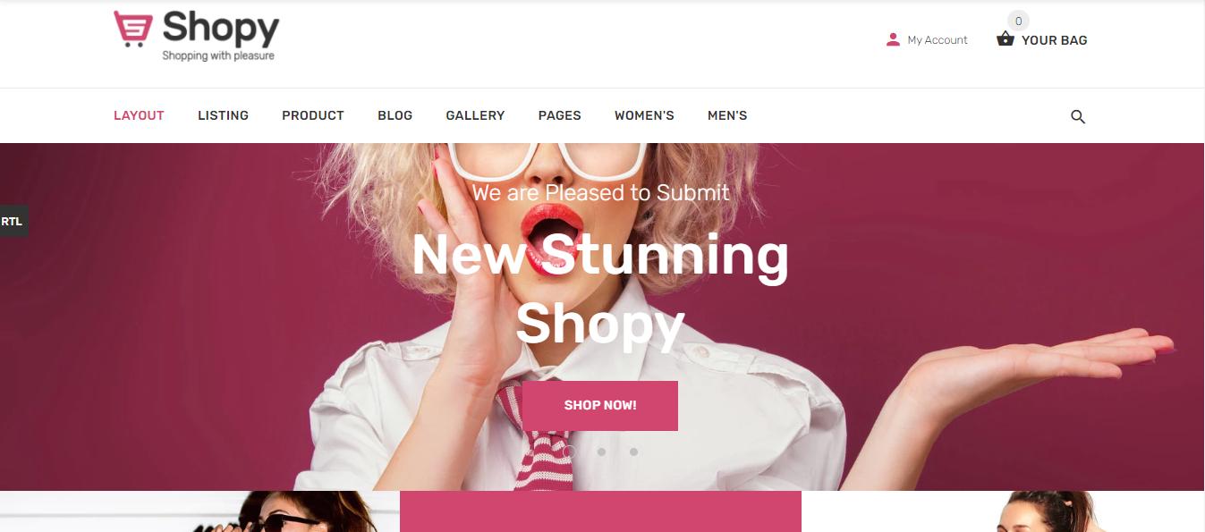 Shopy Shopify