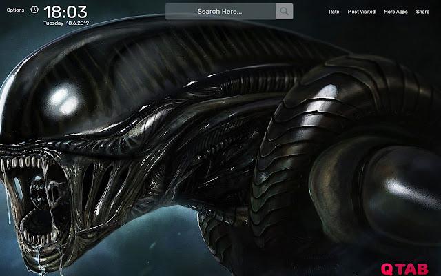 Alien Movie Wallpapers New Tab