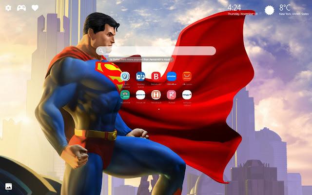 Superman Wallpaper HD New Tab