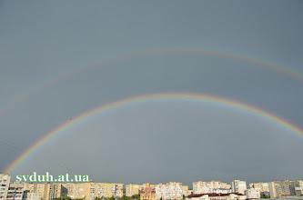 Photo: Веселка над нашою Церквою. Жовтень 2012 р.