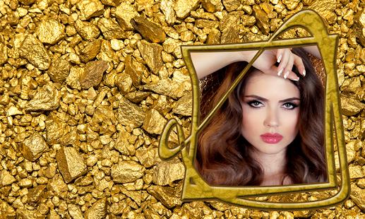 Gold Photo Frames - náhled