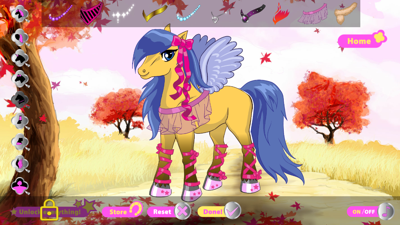 Fancy Pony - Dress Up Game- screenshot