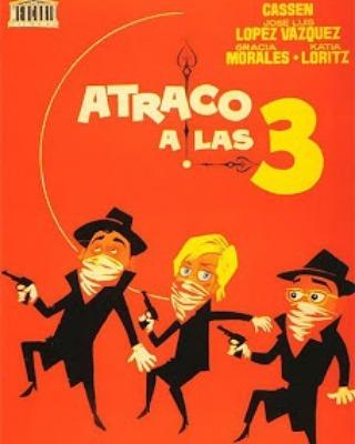 Atraco a las tres (1962, José María Forqué)