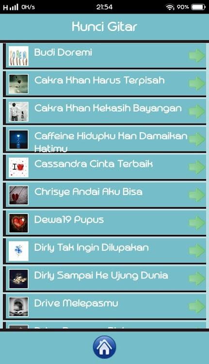 Kunci Gitar Lirik Lagu Indonesia Android Sovellukset