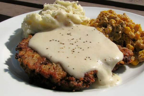 Chicken Fried Steak With Gravy Recipe