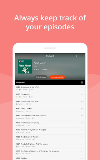Podcast App & Podcast Player - Podbean screenshots 9