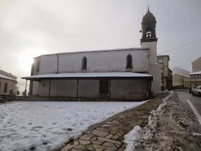 Photo: 2ª Etapa do Camiño Primitivo . A Fonsagrada - 20,1 Km . 24-01-15.  Iglesia de Santa María de Fonsagrada