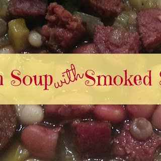 15 Bean Soup with Smoked Sausage - a One Pot Meal Recipe