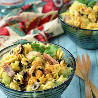 Creamy Italian Skroodle Salad.