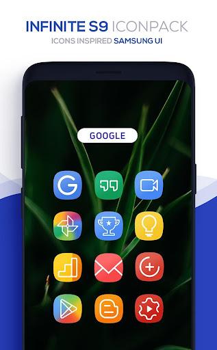 Infinite S9 Icon Pack  screenshots 3
