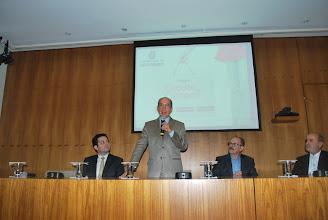 Photo: Da esquerda para direita: Fernando Pierone, Marcos Cintra, Hugo Duare e José Luiz Gavinelli