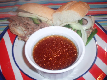 Crock Pot: French Dip / Philly... Recipe