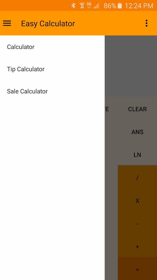 Easy Calculator- screenshot