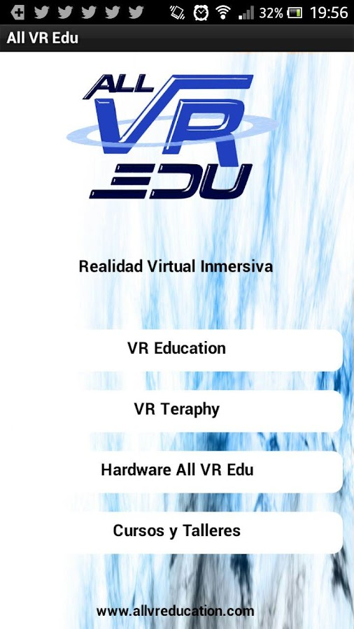 All VR Edu app- screenshot