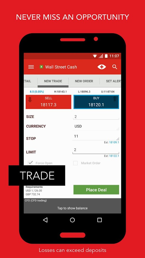 IG Trading- screenshot