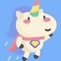 Cute Unicorn Stickers For WhatsApp icon