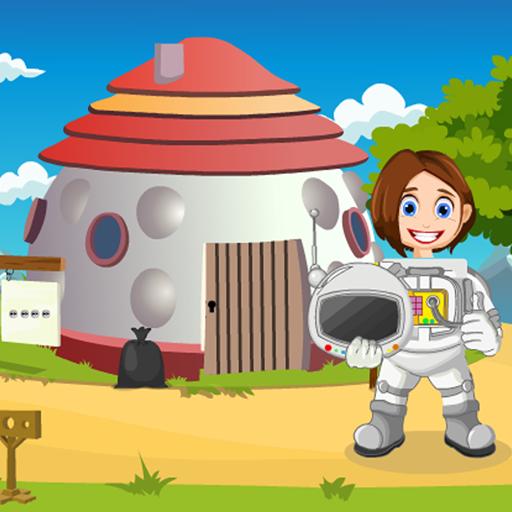 Scientist Girl Rescue Best Escape Game-365