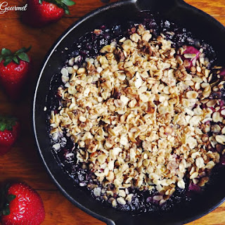 Mixed Fruit Crumble