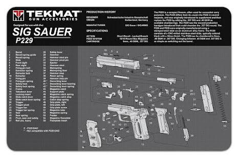 TekMat Sig Sauer P229