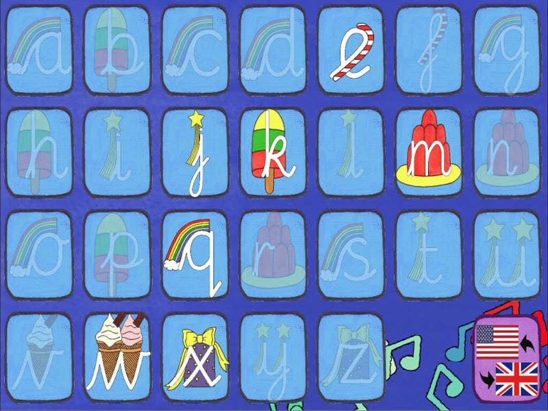 Скриншот Singalong Cursive Writing FREE
