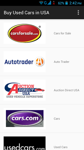 Buy Used Cars in USA screenshot