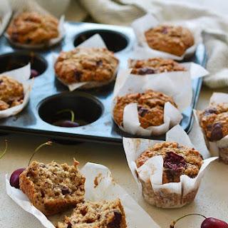 Healthy Cherry Muffins Recipe