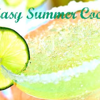 Five Easy Summer Cocktails.