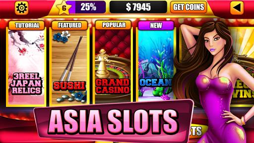 Asia Dragon Sushi Slot Machine