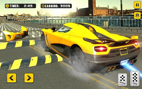 Download 100 Speed Bump Crash Car Driving For PC Windows and Mac apk screenshot 5