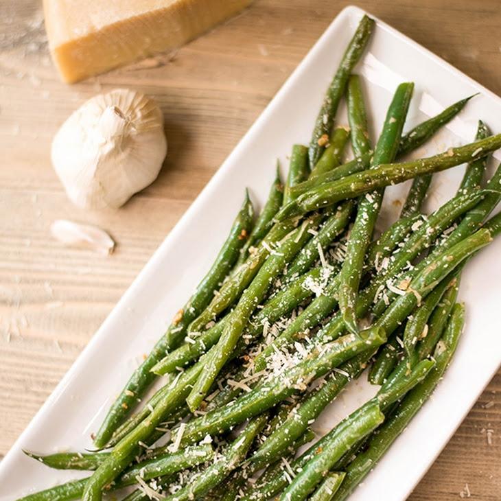 Garlic Parmesan Green Beans Recipe