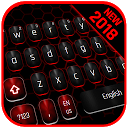 Classic Black Red Keyboard 10001005