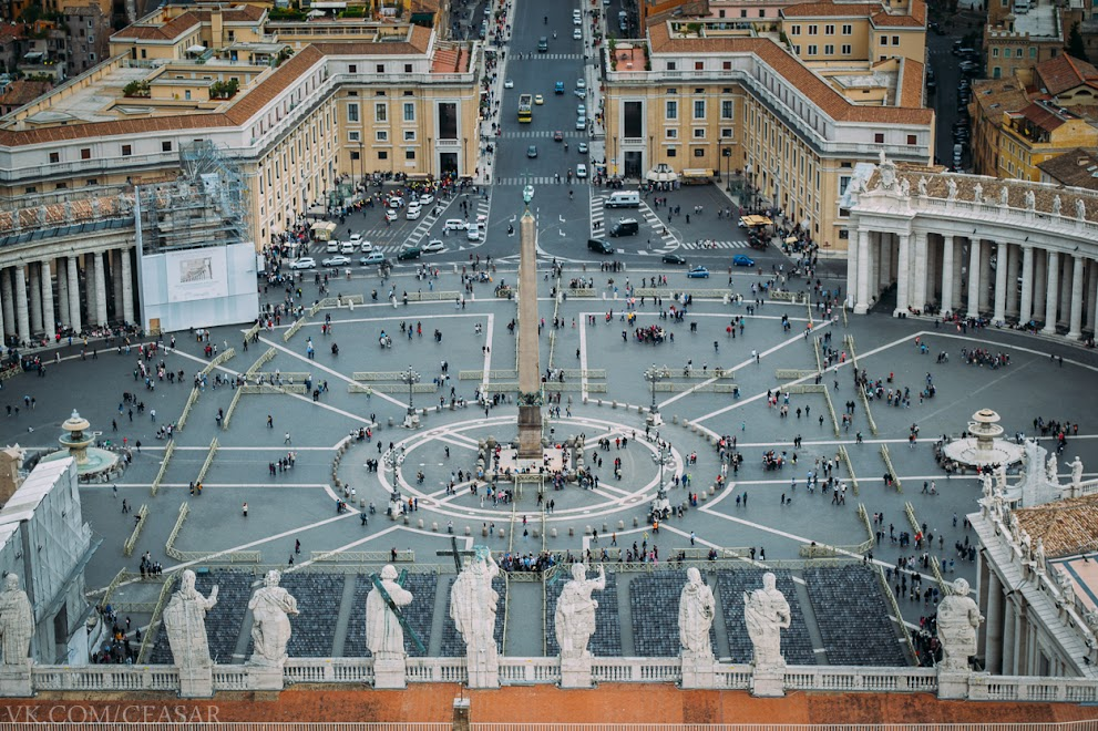 Главная площадь. Ватикан