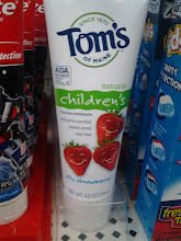 Photo: Walmart even had natural toothpastes in the line.