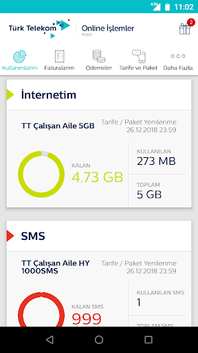 Tu00fcrk Telekom Online u0130u015flemler 7.1.1 screenshots 2