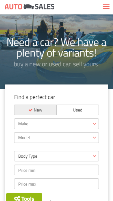 AutoSales Demo- screenshot