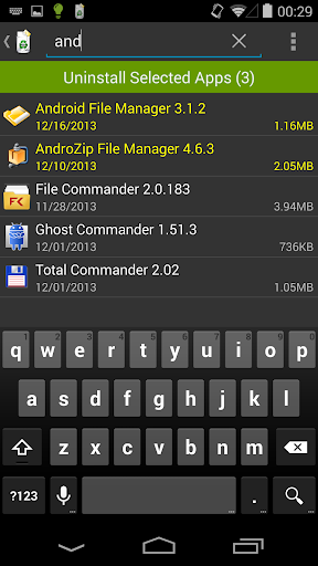 Uninstaller 1.5.8 Screenshots 4